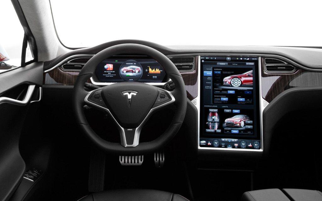 Tesla Cockpit Driver's Seat