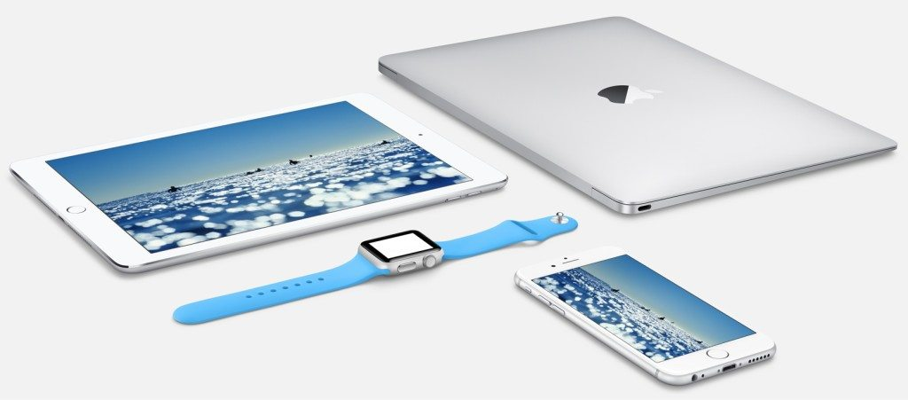 Apple Products iWatch iPhone iPad Macbook Air