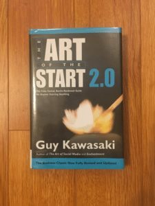 The Art Of The Start 2.0 Physical Book Cover